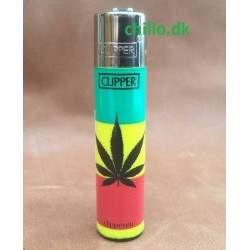 Clipper lighter - Hampblad sort 1 stk.