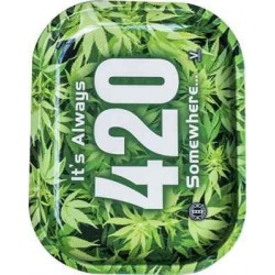 420 - Bord Rulle-Bakke, Lille 18x14cm (Rolling Tray)