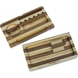RAW Bamboo Striped Backflip Filling Tray - Mixe og Fyldebakke i Bambus