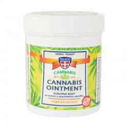 CANNABIS Regenerating Ointment 12% Cannabis Oil (Salve med hampfrøolie) 125ml - PALACIO Herbal Cosmetics