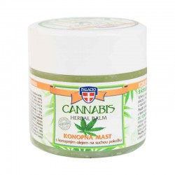 CANNABIS Herbal Vaseline Ointment 12% Cannabis Oil 120ml - PALICIO Herbal Cosmetics
