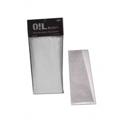 Rosin Bag Filters 50µm L - Oil Black Leaf