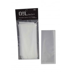 Rosin (Udvindingsfilter) Bag Filters 50µm M (110x50mm) - Oil Black Leaf - 1 stk.