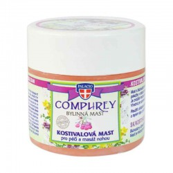 COMFREY Herbal Balm Med Kulsukker (Massage Vaseline Salve med kulsukker) 120ml - PALACIO Herbal Cosmetics