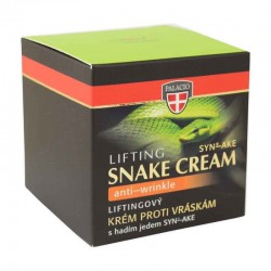 SNAKE VENOM Face Cream Crystal Jar (Ansigtscrem Med SYN-AKE) 50ml - PALACIO Herbal Cosmetics