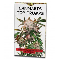 Cannabis Top Trumps Limited Edition Kortspil