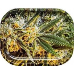 Weed - Bord Rulle-Bakke, Lille 18x14cm (Rolling Tray)