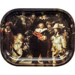 Nightwatch - Bord Rulle-Bakke, Lille 18x14cm (Rolling Tray)