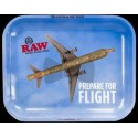 RAW Flying High Metal Rolling Tray - Large 34 x 27,5 cm