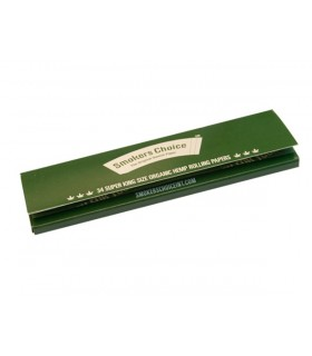 Smokers Choice - Organic Hemp Super King Size