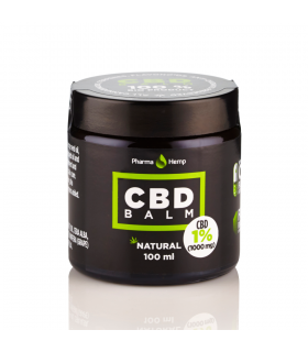 1% CBD Balm 100ml - Pharma Hemp