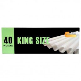 J-WARE Cones King Size 40 stk.
