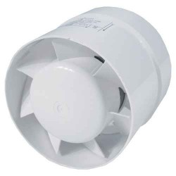 Ø100mm Axial Fan - 105m³/h - Step Connection