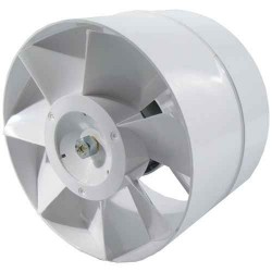Ø150mm Axial fan - 298m3/h - Step Connection