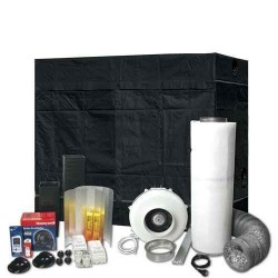 Komplet Set HOMEbox XXL, Silver Jord, incl. Ventilation Set 800