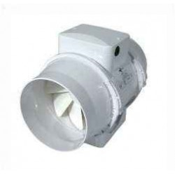 Ø125mm Mixed In-Line Ventilution, 220/280 m³ / h, plast