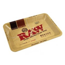 RAW Metal Rolling Tray - Mini 12,5 x 18 cm