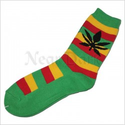 Sokker - Rasta - In Weed we trust! - str.39-45