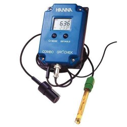 Hanna Grocheck Combo Pro, measures pH, EC, TDS, °C