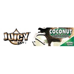 Coconut Juicy Jay's - King Size Slim Paper med smag