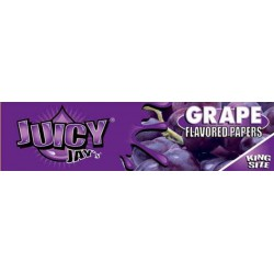 Grape Juicy Jay's - King Size Slim Paper med smag