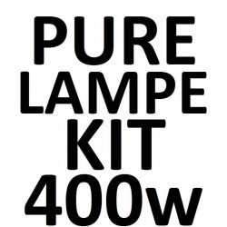 400 W PURE Lampe KIT incl. kabel