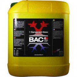 Grow Soil Nutrition (Jord) - BAC - 1 Komponent - 1, 5 & 10 liter
