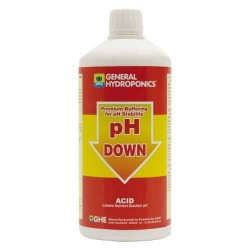 GHE pH Down, til pH-sænkning, 1L